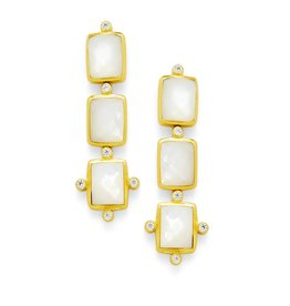Clara Tier Gold Mother of Pearl