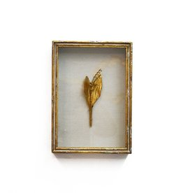 Framed Lily of the Valley in Gold