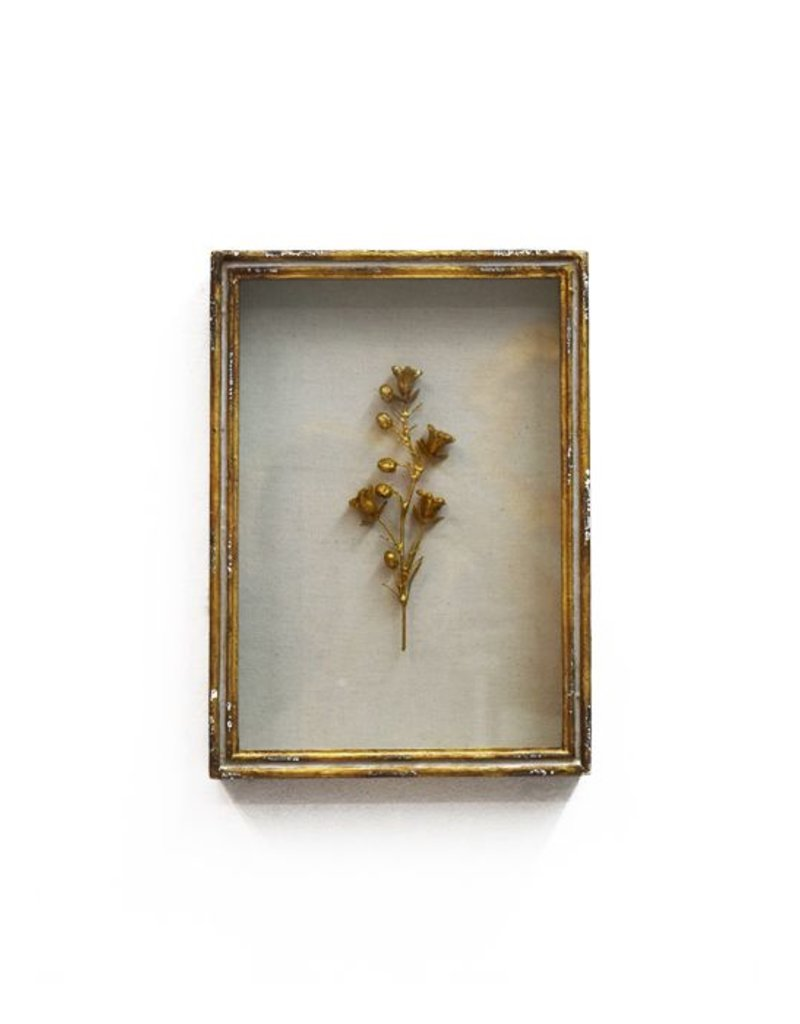 Framed Rampion Bell Flower