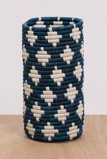 Blue Night Almasi Vase