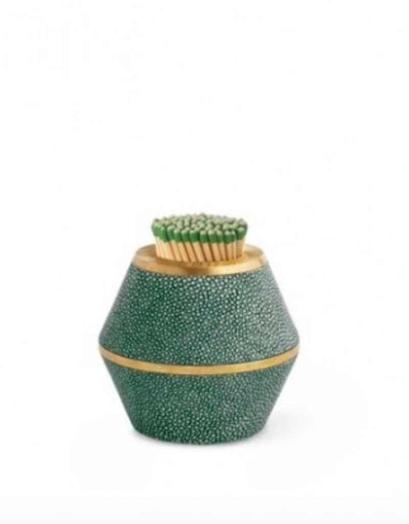 Emerald Shagreen Cone Match Striker