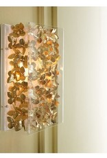 """13"""" Butterfly Sconce-Gilded"""