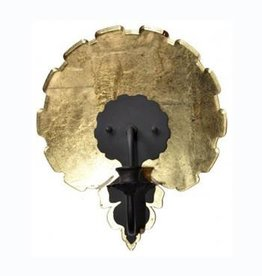 Scallop Sconce Guilded