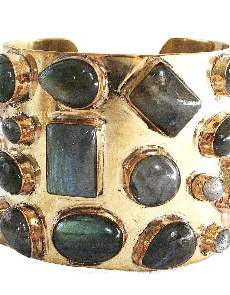Gemstone Bendall Cuff