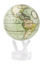 "6"" Seafoam Green Globe with Base"