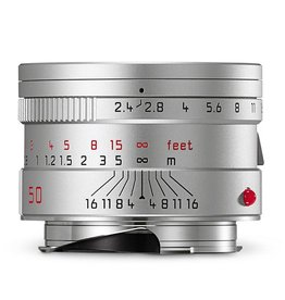 50mm / f2.4 Summarit Silver (E46) M)