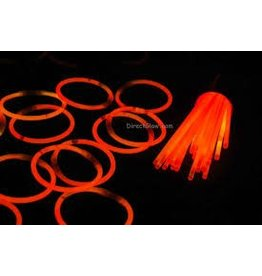 Orange Glow Necklaces Tube of 50