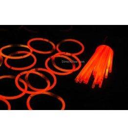 Orange Glow Necklaces Tube of 50