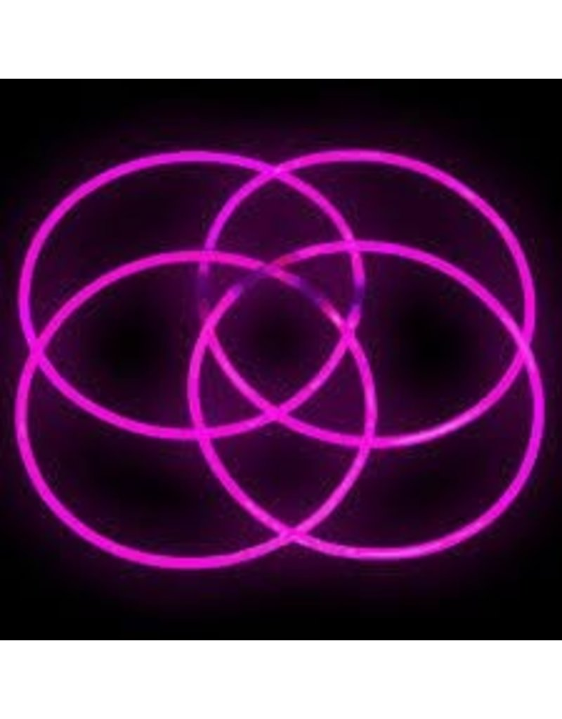 Pink Glow Necklaces Tube of 50