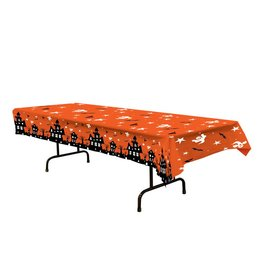 Haunted House Table Cover