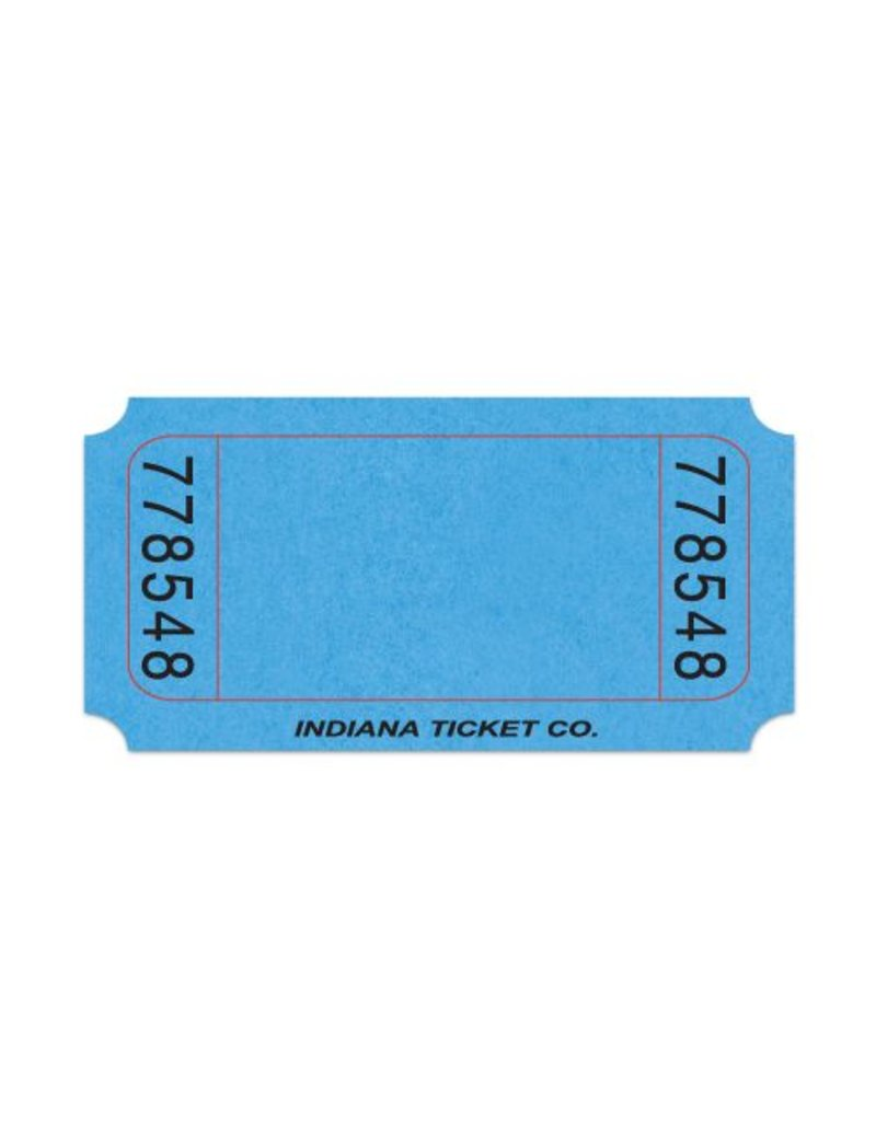 Blank Roll Tickets