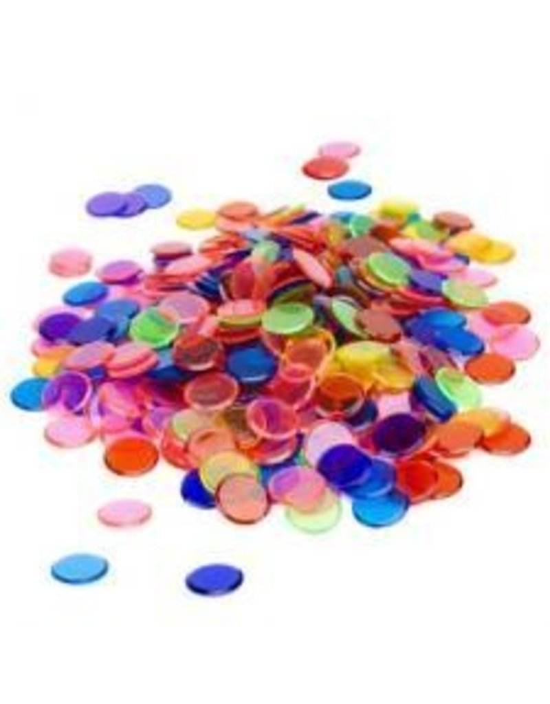 100ct Plastic Bingo Chips