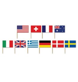 International Flag Picks 50 count