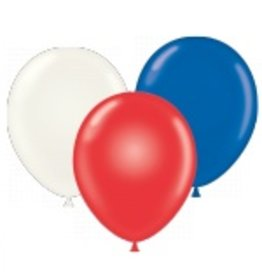 """50 CT 17"""" RED-WHITE-BLUE ASST"""