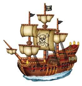 """Jointed Pirate Ship-31"""""""