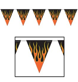Flame Pennant Banner
