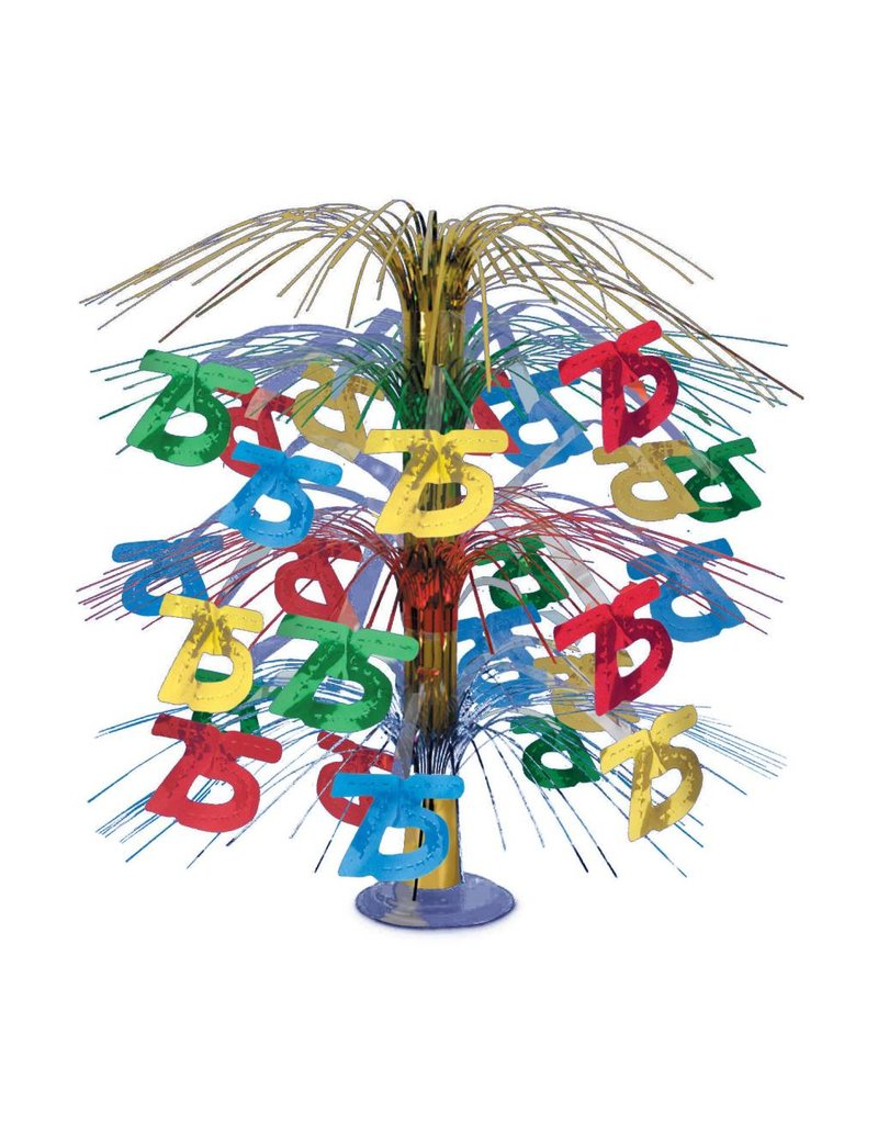 75TH Cascade Centerpiece- Multi Color
