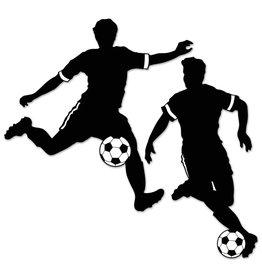 Boys Soccer Silhouettes