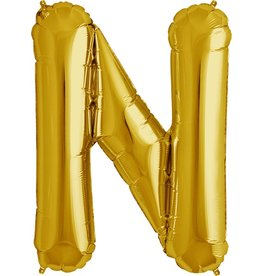 "34"" Gold Foil N Balloon"