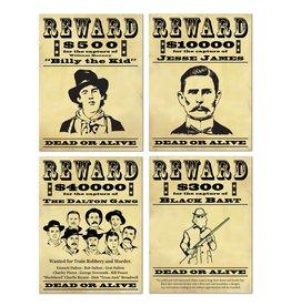 Wanted Sign Cutouts