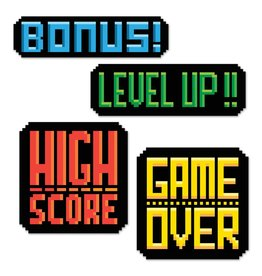 8-Bit Action Signs
