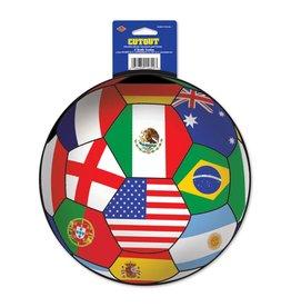 International Soccer Cutout