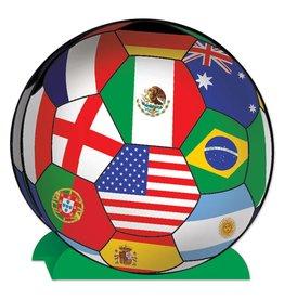 International Soccer Centerpiece