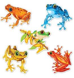 Mini Frog Cutouts