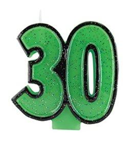 30 Glitter Candle
