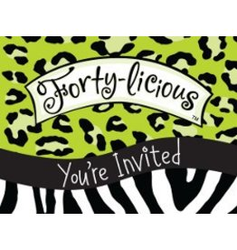 Fortylicious Invitations