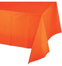 Sunkissed Orange Table Cover
