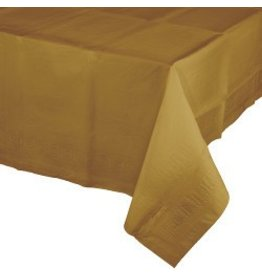 Glittering Gold Table Cover