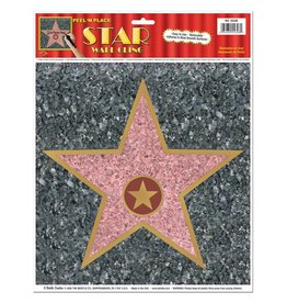 Star Wall Cling -1piece