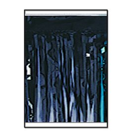 "Float Fringe-Black-15"" x 10'"