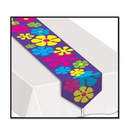 Retro Flower Table Runner