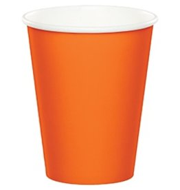 Paper Cups Sunkissed Orange