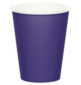 Paper Cups Purple