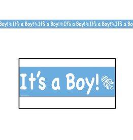It's A Boy Party Tape