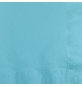 Beverage Napkins Pastel Blue