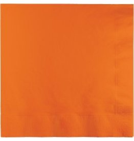 Luncheon Napkins Sunkissed Orange