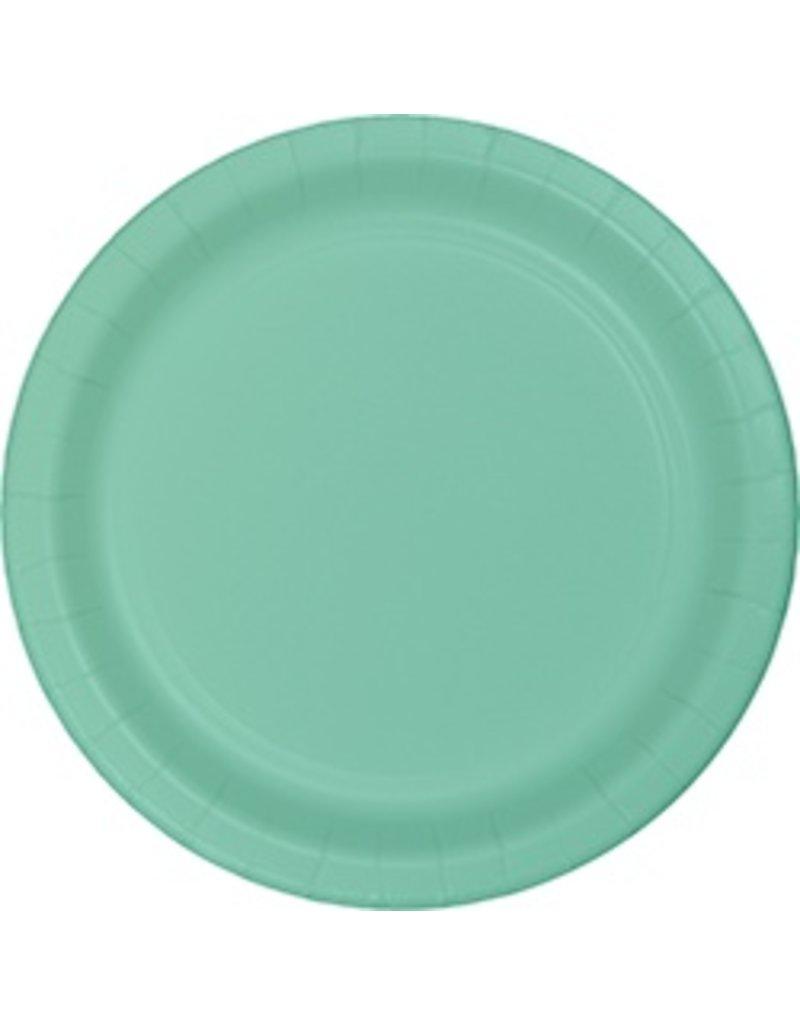 "9"" Round Plates Fresh Mint"