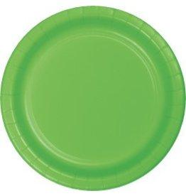 "9"" Round Plates Fresh Lime"