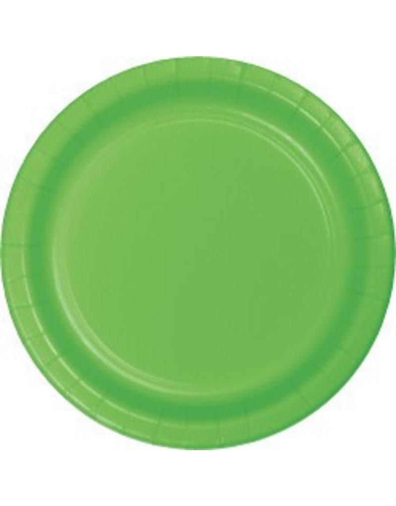 "9"" Round Plates Fresh Lime"