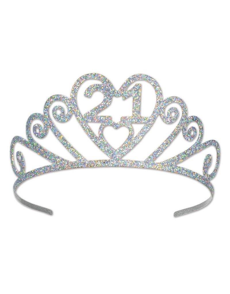 21-Glitter Tiara