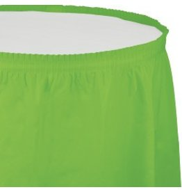 Table Skirt Plastic Fresh Lime