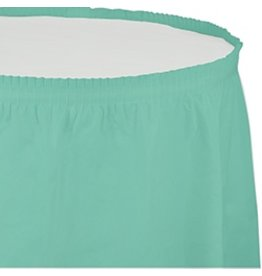 Table Skirt Plastic Fresh Mint