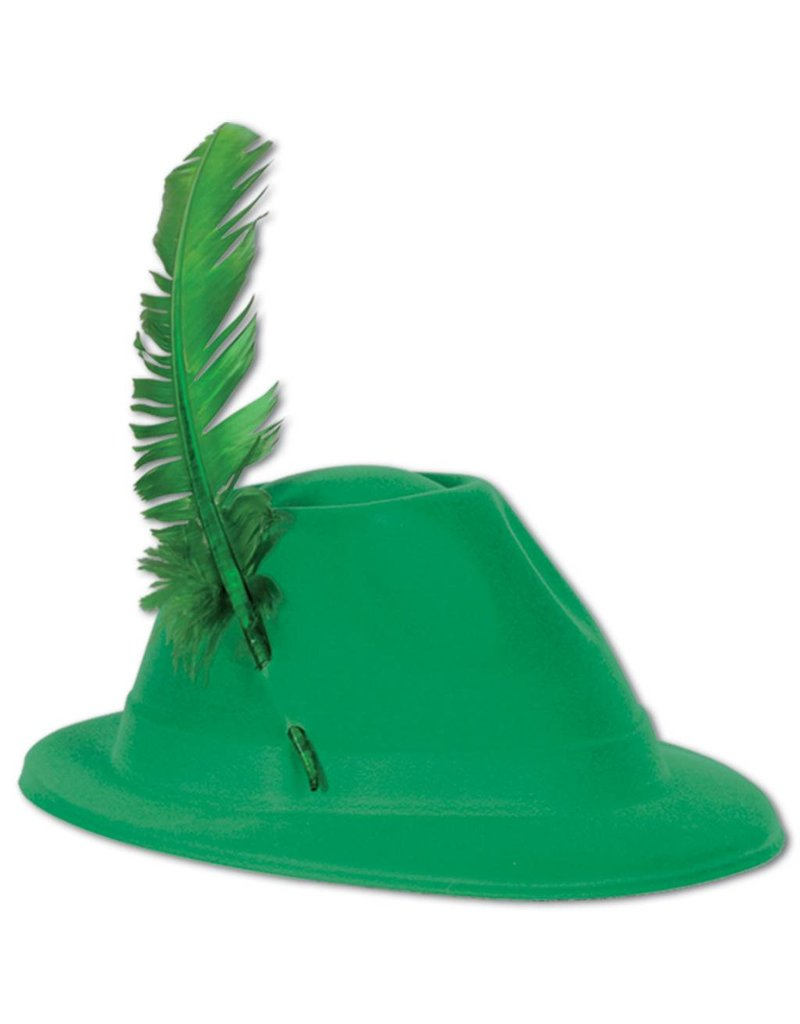 Alpine Hat-Green Velour - Tribout s Party-Bingo-Carnival 7283fcb481c