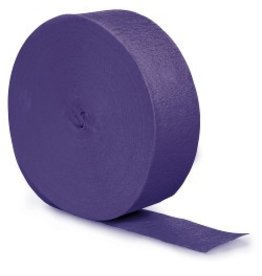 Crepe Paper Streamers 500' Purple
