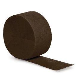 Crepe Paper Streamers 81' Black