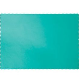 Paper Placemats Teal Lagoon